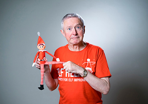 Louis Walsh stars in new Christmas Advert for Elves Behavin' Badly