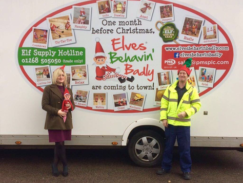 Elves Behavin' Badly and Havens Hospice