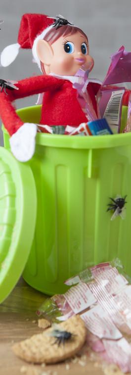 That's Rubbish! #elvesbehavinbadly #elve