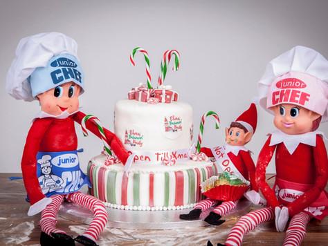 Elves Behavin 'Badly meets the Great British Bake Off - On your marks, get set... BAKE!
