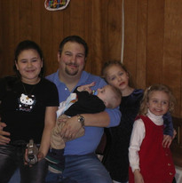 Allie Merkel, Russ, Victoria Merkel, Carollynn (daughter), Kyle Walker