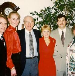Doug, Kelley, Russ Sr, Joyce, Russ, Pamie