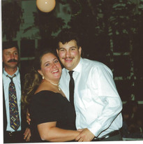 Russ and Pam at Beth's wedding