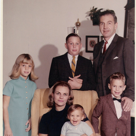 Russ and Family 1969
