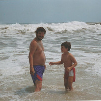 Outer Banks 1990 Russ & Michael
