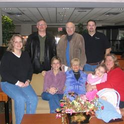 Family at Michaels UMBC game