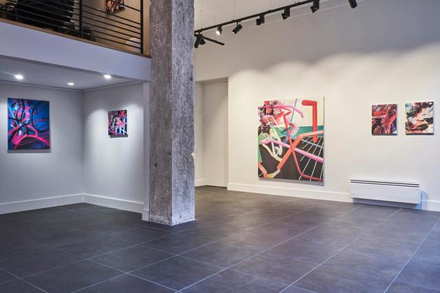 De l'atelier à la galerie, l'artiste Robin Curtil
