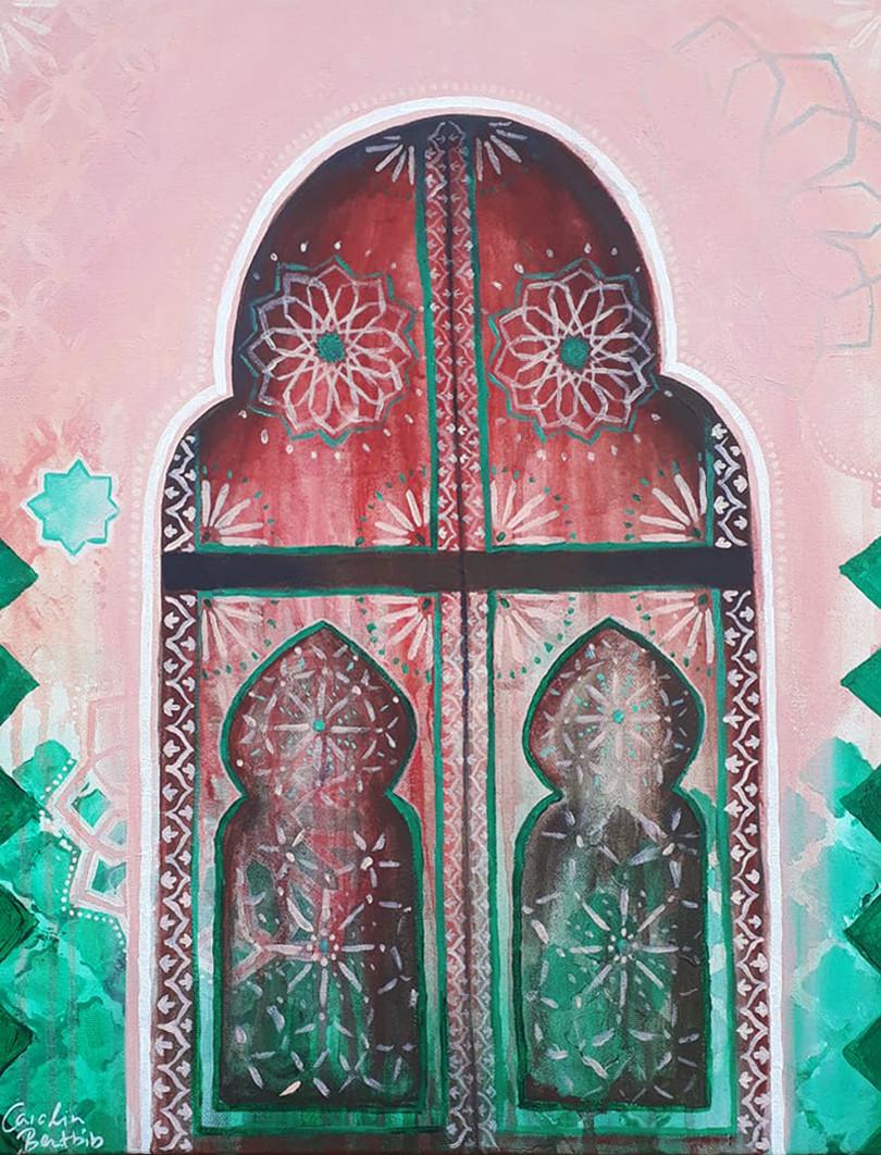 Door to Marrakech