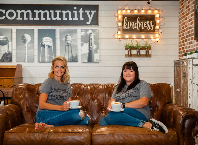 Audrey and Kelli - friends and co-founders