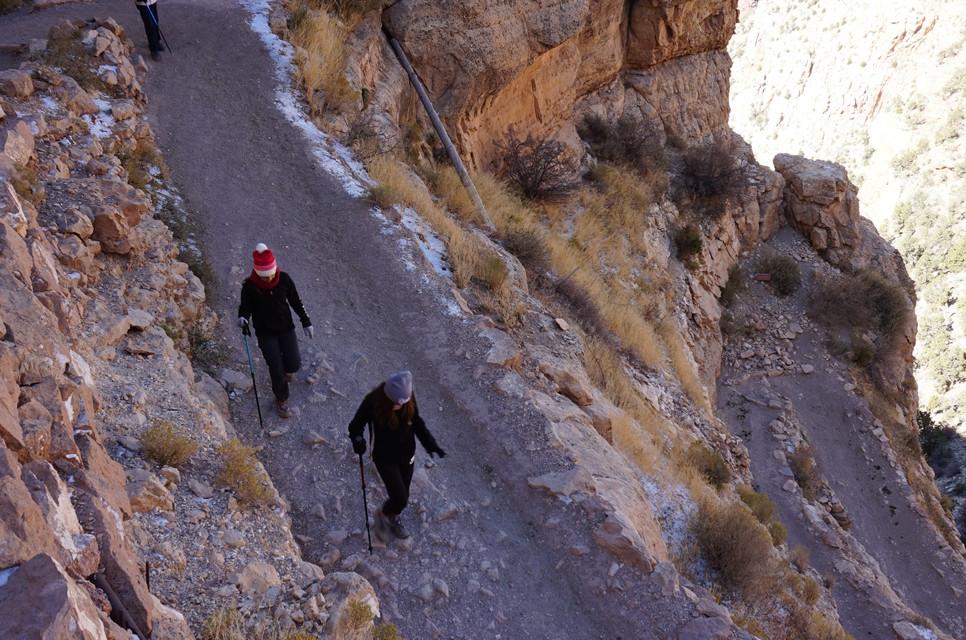Trail vers le Grand Canyon (Cedar Ridge)