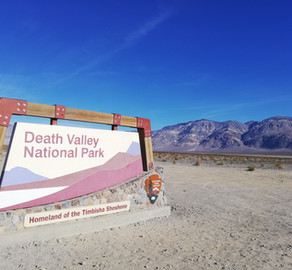 Death Valley : la vallée de la mort nous surprend !!