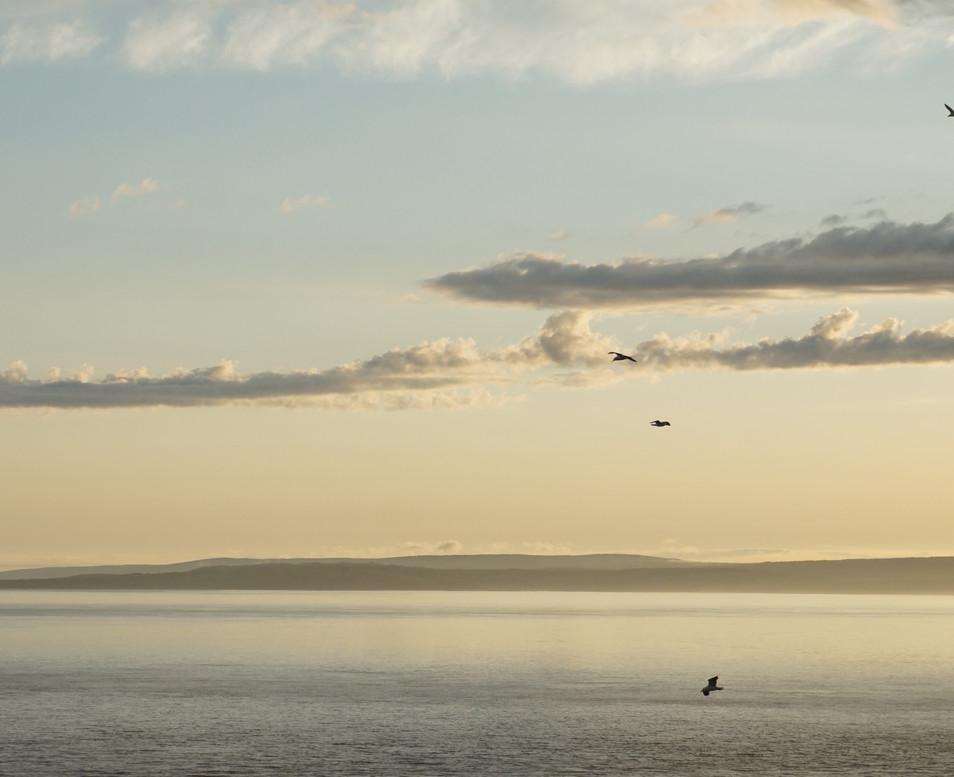 Sunset au Cap Split.JPG