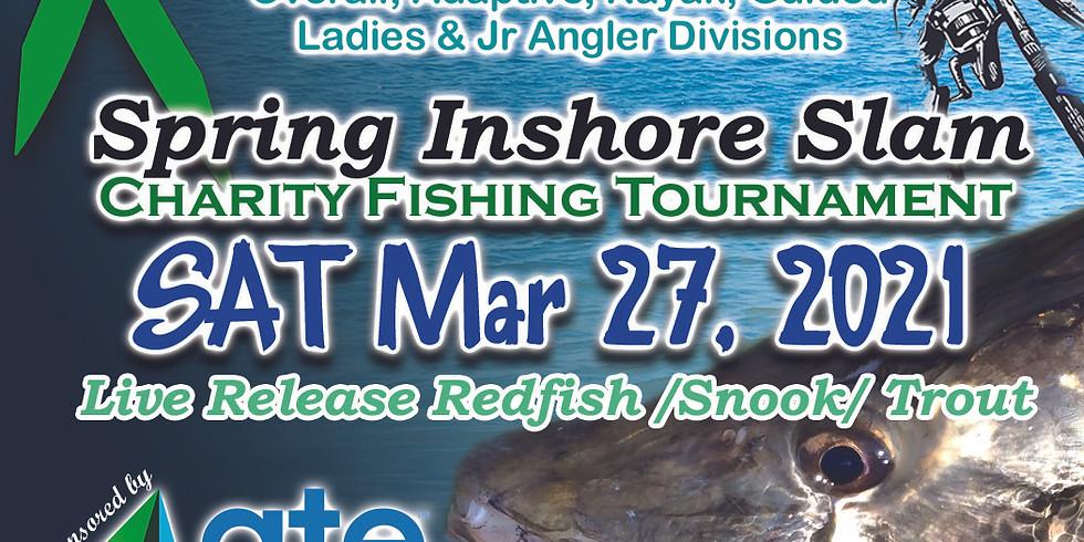 Tighten The Drag Foundation Spring Inshore Slam Charity Fishing Tournament