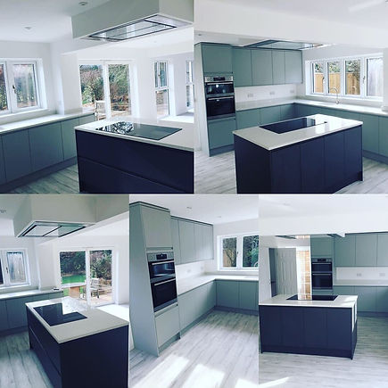 New Kitchen, high end bespoke build