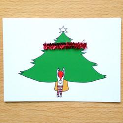 Tinsel Tree Elf