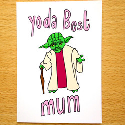 Yoda Best Mum