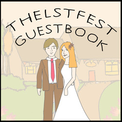 g&d guestbook cover