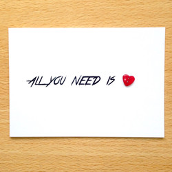 All You Need Is <3