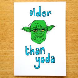 Older Than Yoda
