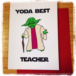 Yoda Best Teacher