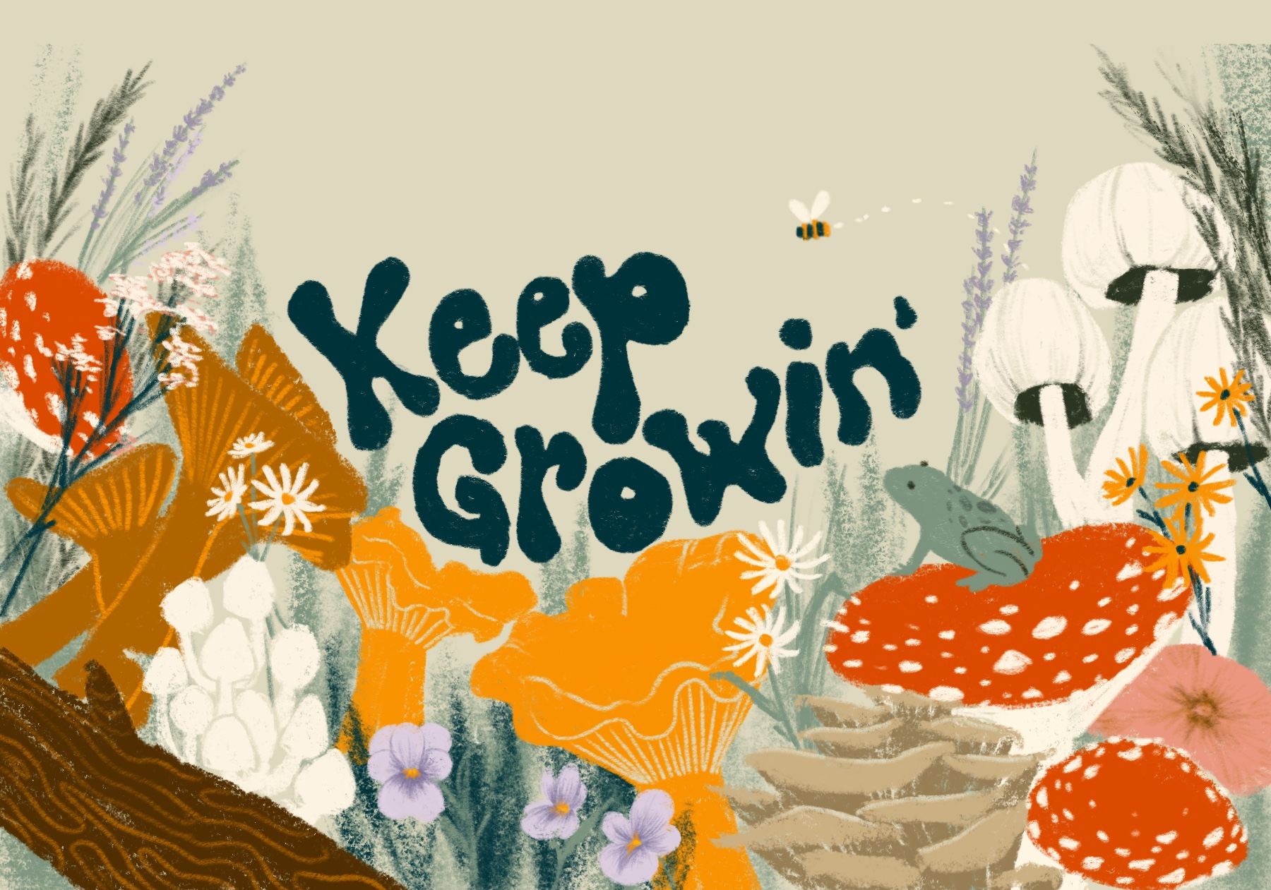 Keep growin