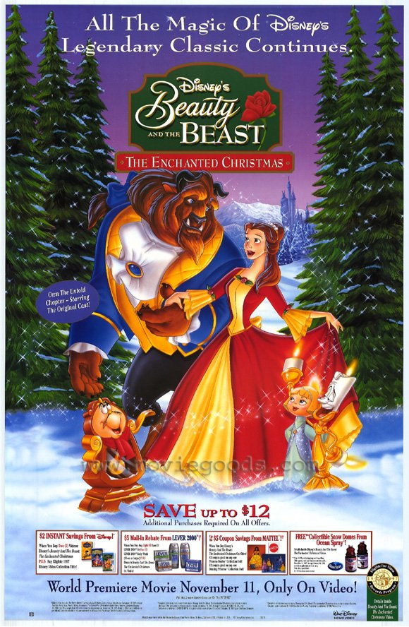 Beauty and the Beast Enchanted Xmas