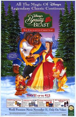 Beauty and the Beast Enchanted Xmas