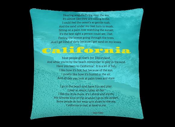 """California"" Pillow"