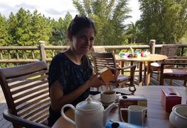 Ochutnávka čajů v Bois Cheri