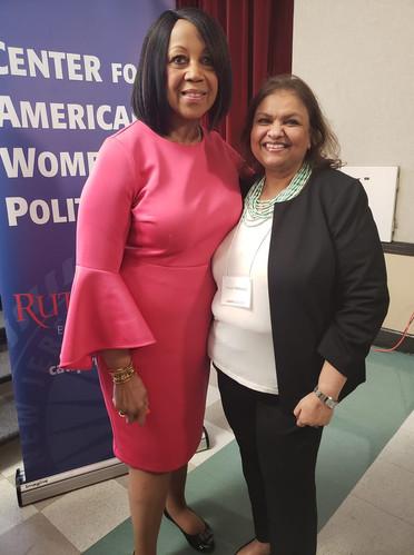 With Lt. Gov. Sheila Oliver