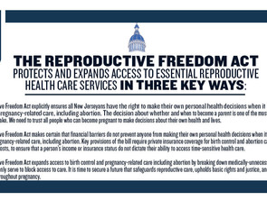 New Jerseyans Need The Reproductive Freedom Act Now