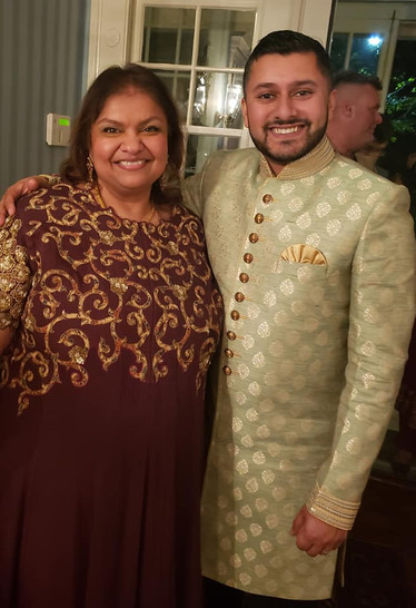 With Assembly Member Raj Mukherji