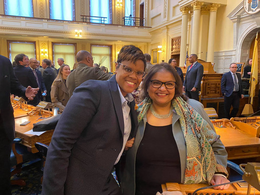 With Assembly Member Shavonda Sumter