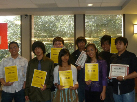 10. 2011 PATAK Series Scholarship Winner