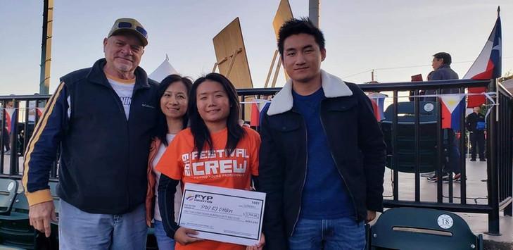 14. 2019 Scholarship Awardee Pui Ki Chan