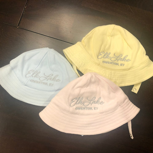 Embroidered Baby Sun Hats