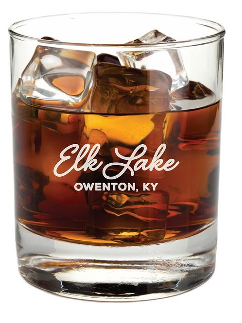 Engraved Bourbon Glasses (set of 2)