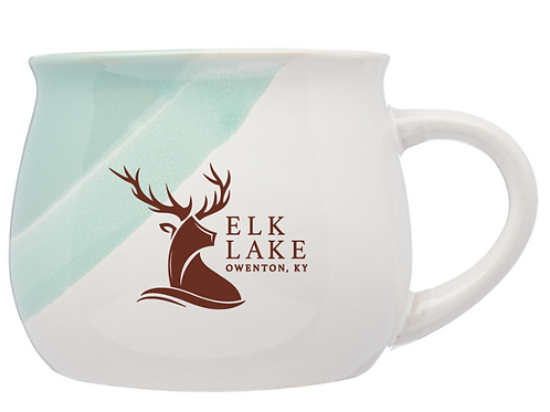 Set of 4 - Nova Drip Glazed Ceramic Mugs 12oz - Elk Lake