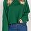 Thumbnail: College Cropped Crewneck Sweatshirt
