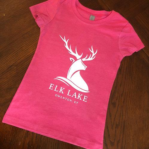 Girls Youth Tee - Elk Lake