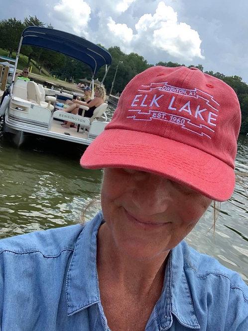 Elk Lake Washed Baseball Hats