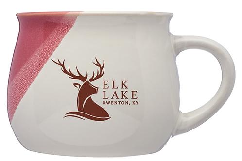 Nova Drip Glazed Ceramic Mugs 12oz - Elk Lake