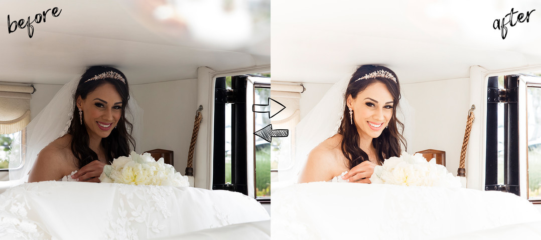 Wedding Presets Before/After