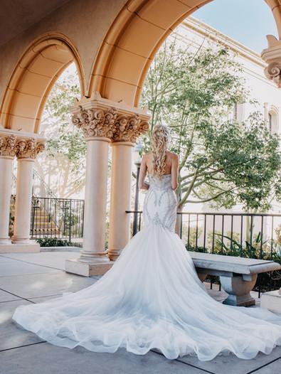 Balboa Park bride