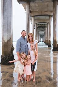 Scripps Pier family