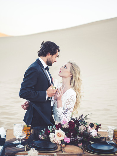 San Dunes Wedding