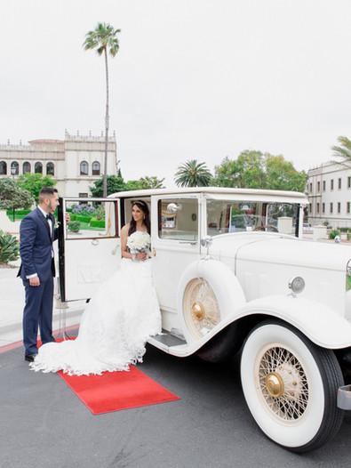 bride & groom San Diego wedding