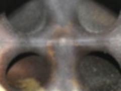 Aluminum intake manifold plenum before a