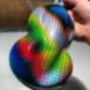 Sampling some tie die weave. Pretty vivi