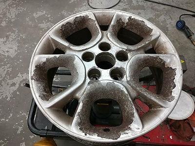 Corroded Wheel